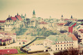 Lublin old town panorama, Poland. Vintage - PhotoDune Item for Sale