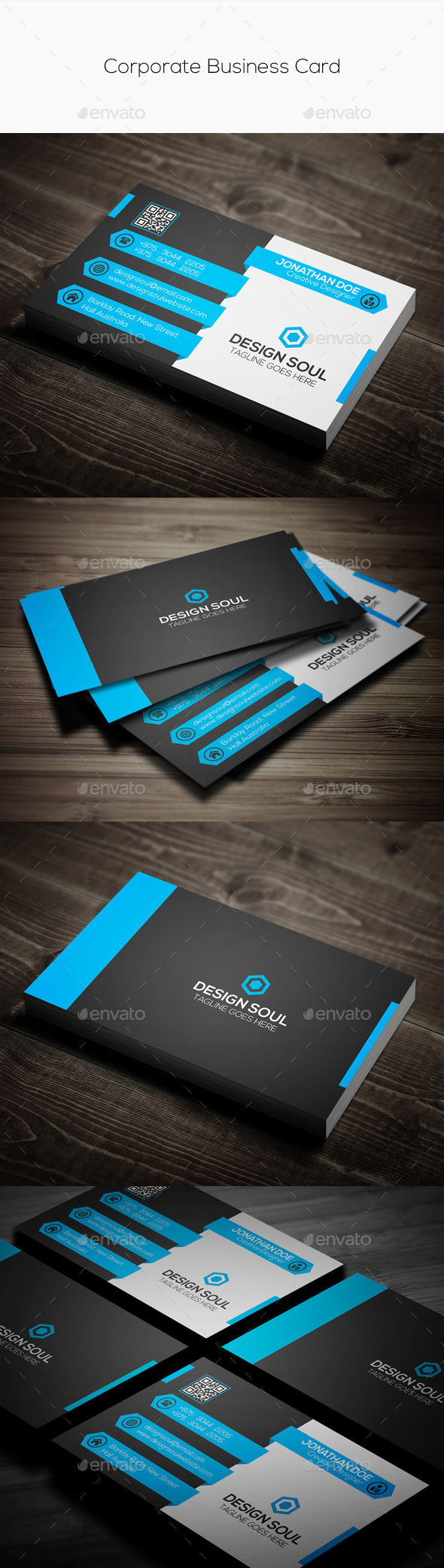 GraphicRiver Corporate Business Card 10909217