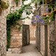 budva old town cobbled street in montenegro - PhotoDune Item for Sale