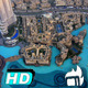 Dubai Mall Fountain Panoramic  - VideoHive Item for Sale