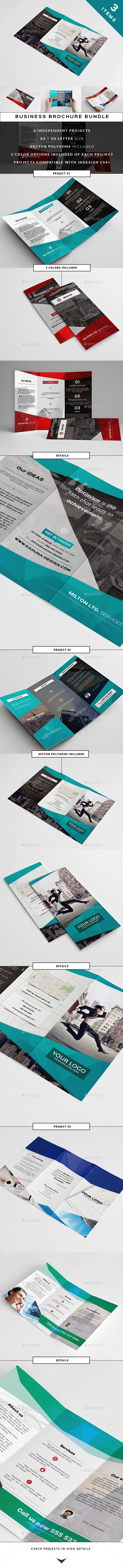 GraphicRiver Business Trifold Bundle 10909639