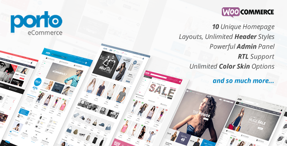 ThemeForest Porto Responsive eCommerce WordPress Theme 9207399