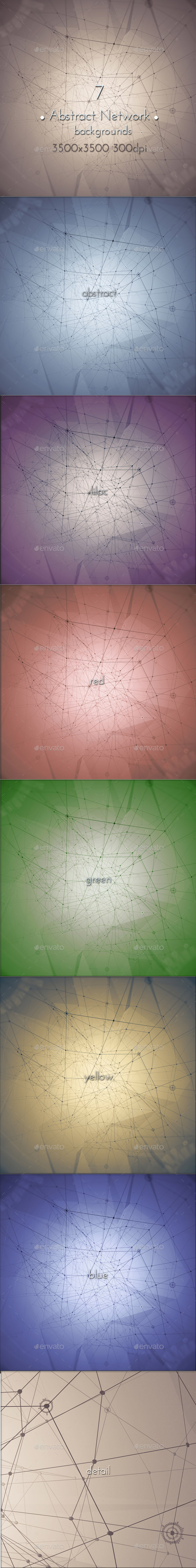 GraphicRiver Abstract Network Background 10910178
