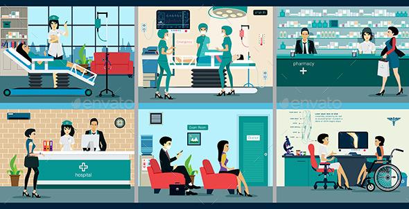 GraphicRiver Hospital 10910264