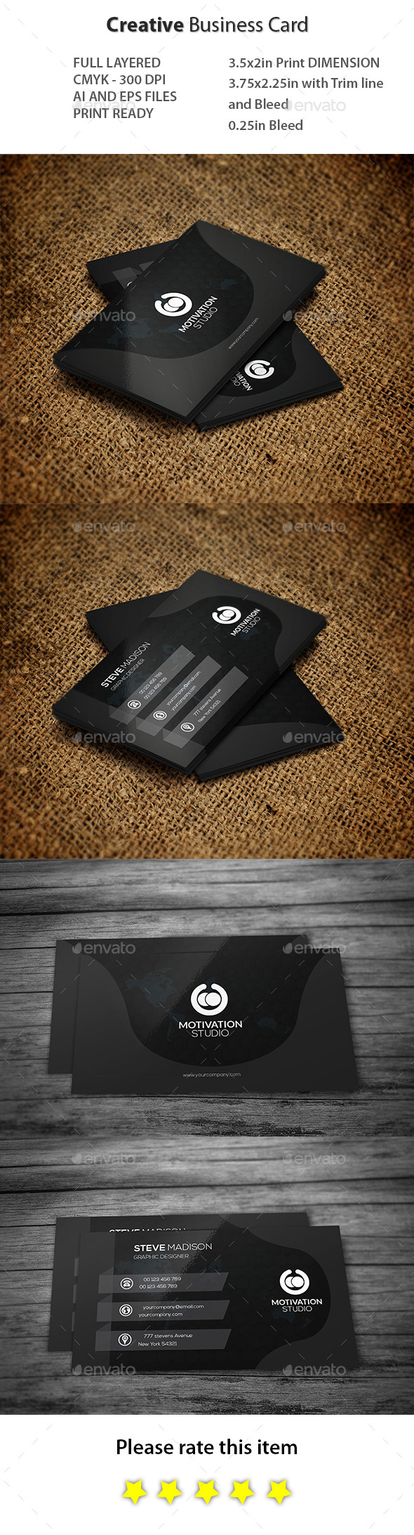 GraphicRiver Creative Business Card 10912904