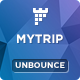 MyTrip - Travel Agency Unbounce Template - ThemeForest Item for Sale