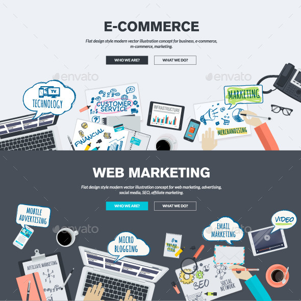 GraphicRiver Concepts for E-Commerce and Web Marketing 10913167