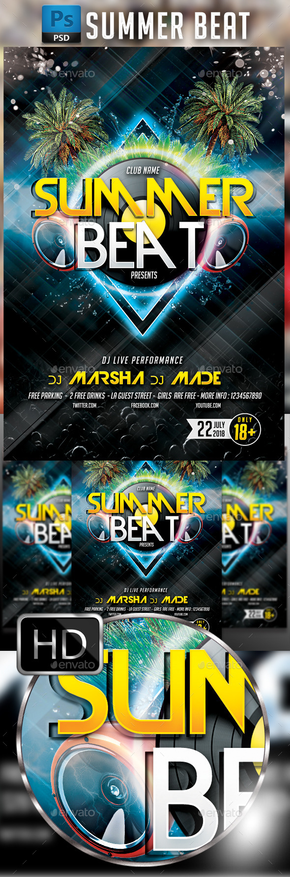GraphicRiver Summer Beat 10815912