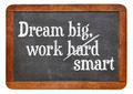 Dream big, work smart - PhotoDune Item for Sale
