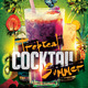 Tropical Cocktail Summer Flyer Template - GraphicRiver Item for Sale