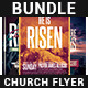 Risen Church Flyer Bundle - GraphicRiver Item for Sale