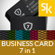 Seven Star Corporate Business Card Vol.6 - GraphicRiver Item for Sale