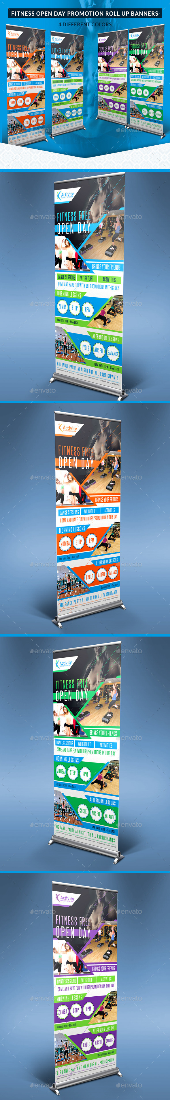 GraphicRiver Fitness and Gym Open Day Promotion Roll Up Banners 10790282