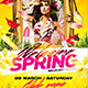 Welcome Spring Flyer - GraphicRiver Item for Sale