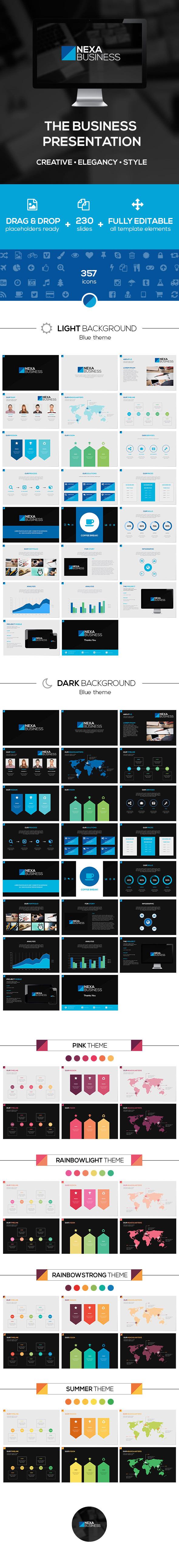 Nexa Business PowerPoint Template