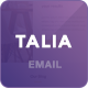 Talia - Modern Email Template + Online Editor - ThemeForest Item for Sale