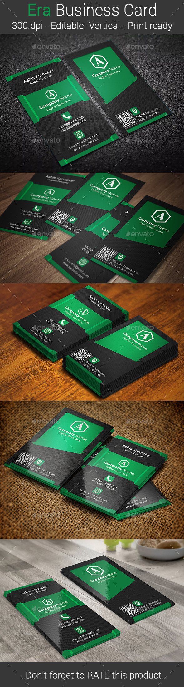 GraphicRiver Era Business Card 10913519