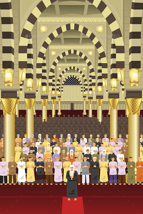 GraphicRiver Mosque 10913579