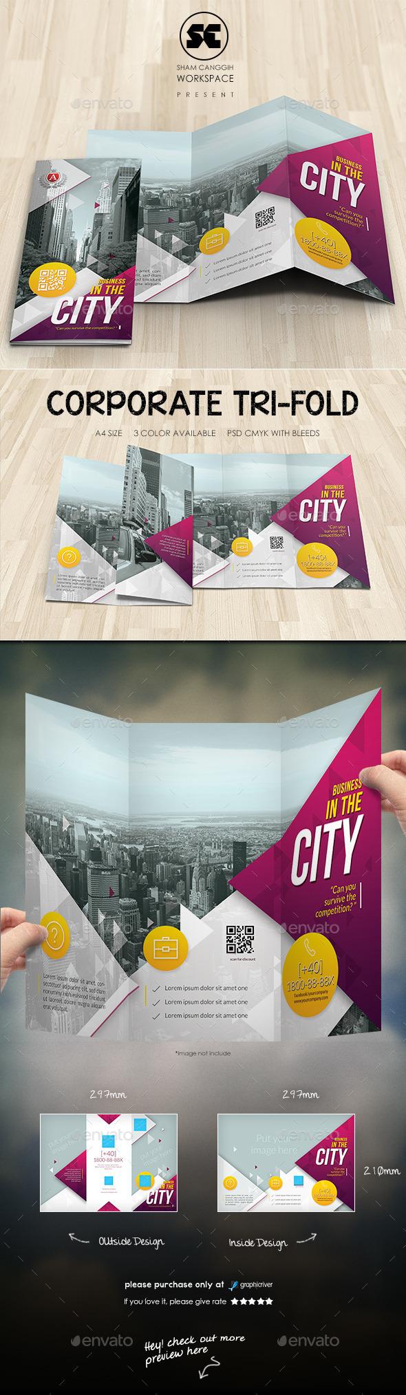 GraphicRiver Creative Corporate Tri-Fold 10913737