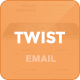 Twister - Modern Email Template + Online Editor