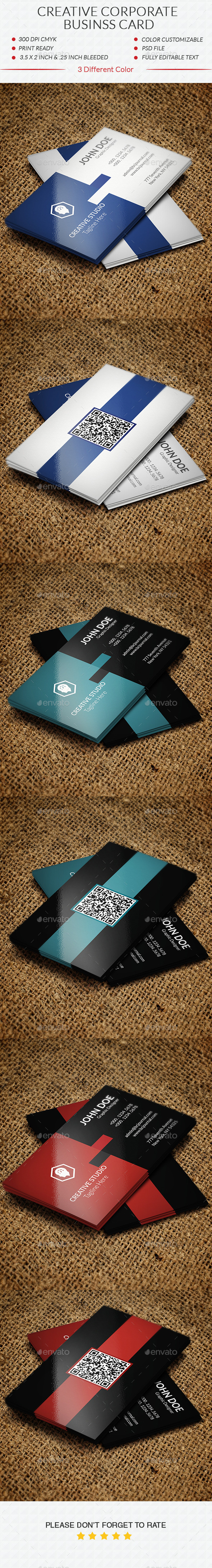 GraphicRiver Creative Corporate Business Card 10913897