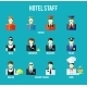 Hotel Staff Avatars