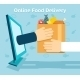 Online Food Delivery - GraphicRiver Item for Sale