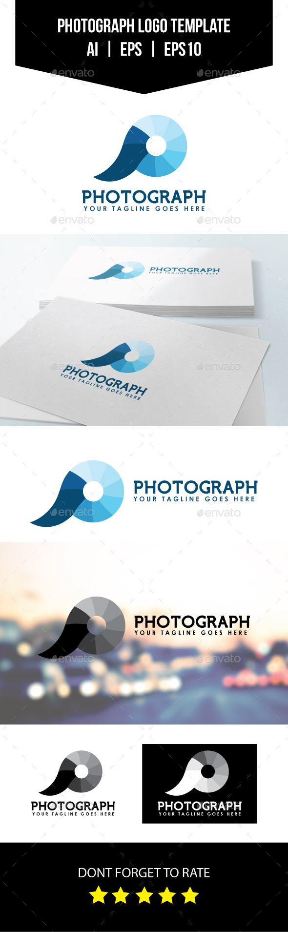GraphicRiver Photograph Logo Template 10914132