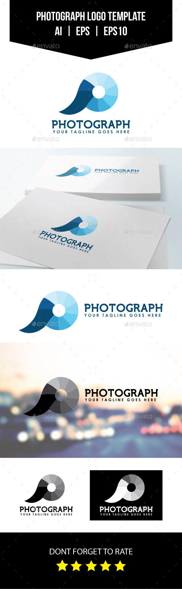 GraphicRiver Photograph Logo Template 10914132