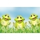 Three Frogs in the Garden - GraphicRiver Item for Sale