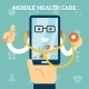 Mobile Health Care and Medicine Concept - GraphicRiver Item for Sale