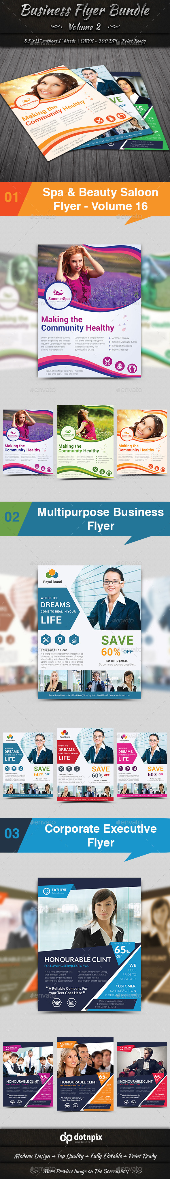 GraphicRiver Business Flyer Bundle Volume 2 10821307