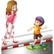 Woman and a Kid - GraphicRiver Item for Sale
