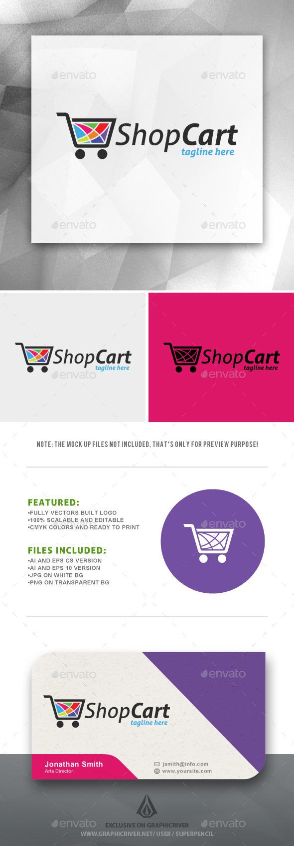 GraphicRiver ShopCart Logo 10914438