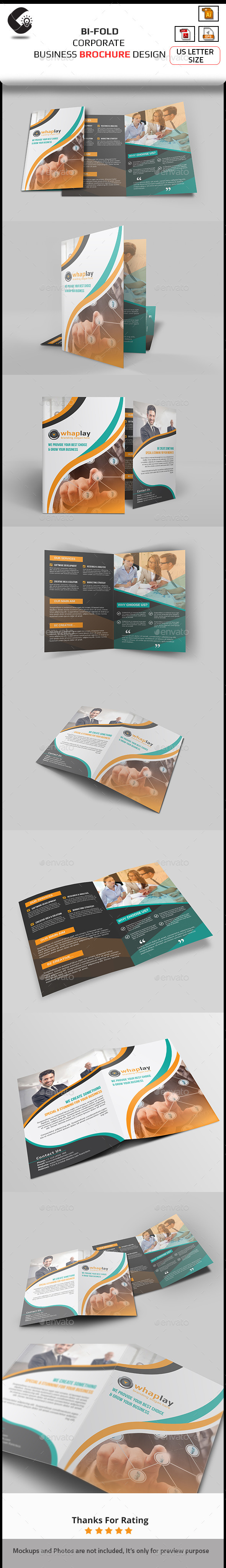 GraphicRiver Bi-Fold Brochure Template 10914452
