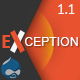 EXCEPTION - Responsive Business Drupal Theme - ThemeForest Item for Sale