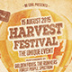 Harvest Festival Flyer/Poster - GraphicRiver Item for Sale