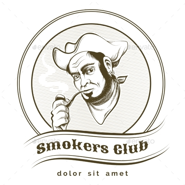 GraphicRiver Smokers Club 10914567