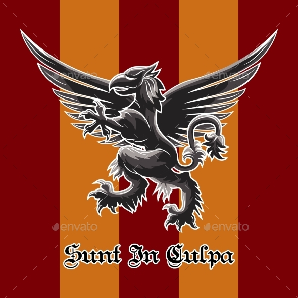GraphicRiver Griffin Emblem 10914576