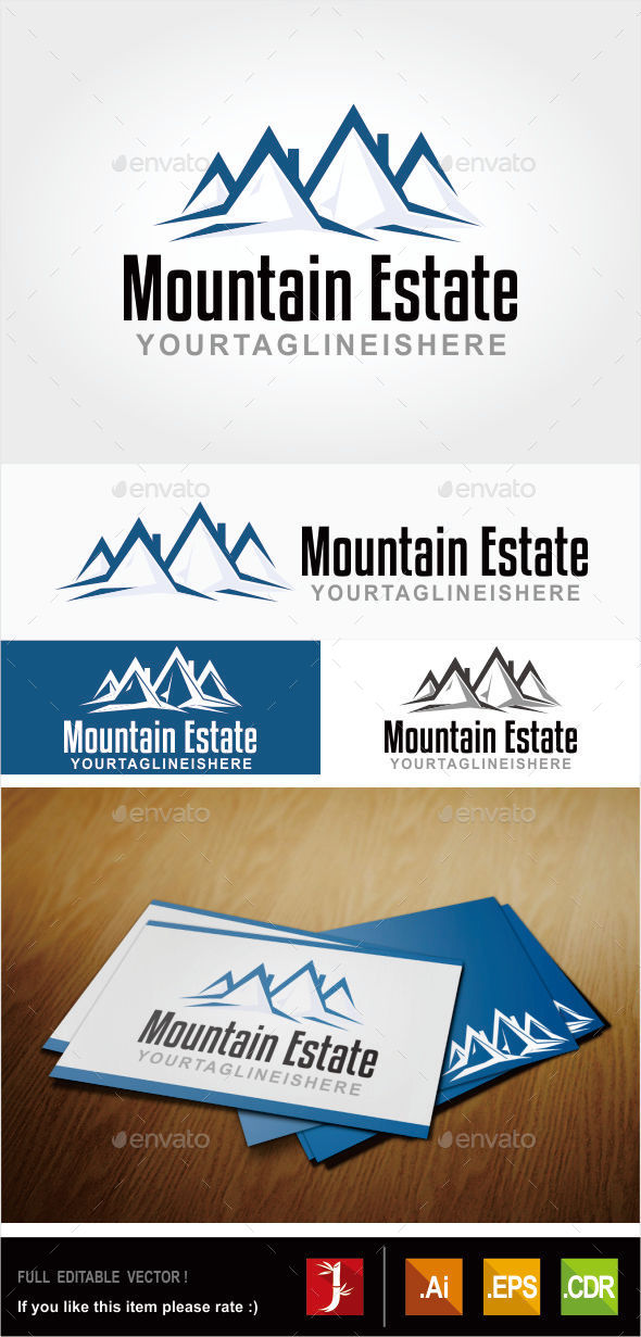 GraphicRiver Mountain Estate 10914600