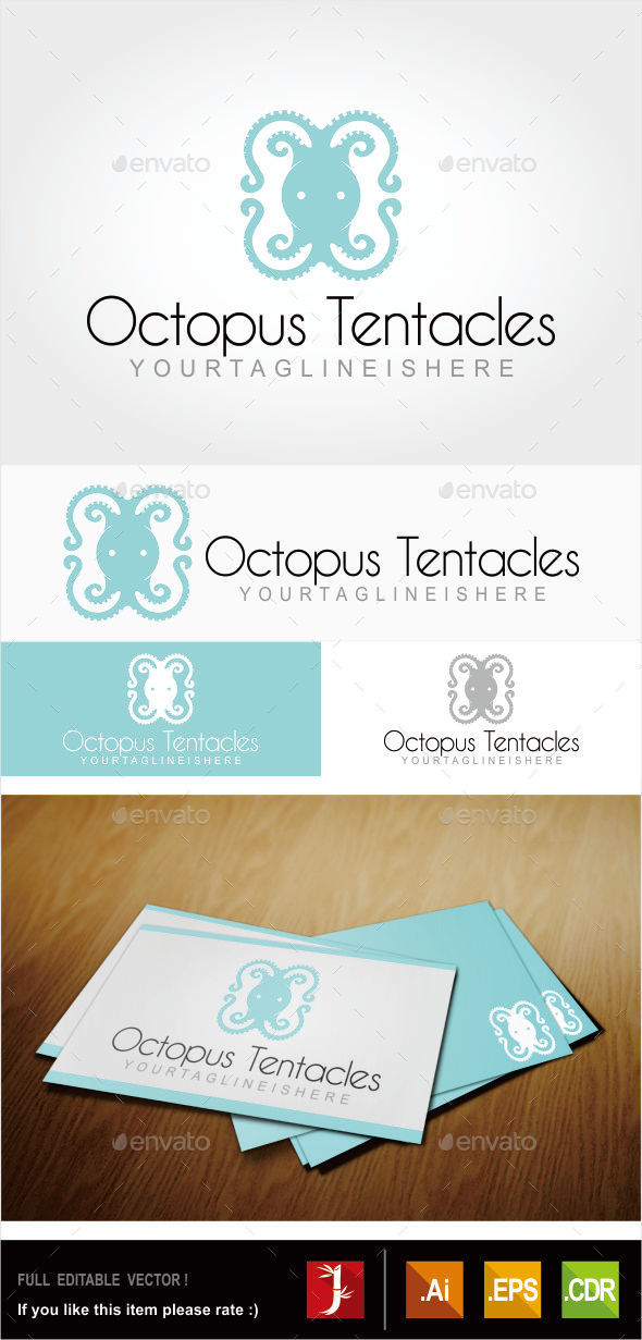 GraphicRiver Octopus Tentacles 10914612