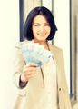 lovely woman with euro cash money - PhotoDune Item for Sale