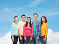 group of smiling teenagers - PhotoDune Item for Sale