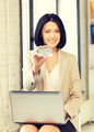 happy woman with credit card - PhotoDune Item for Sale