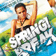 Spring Break Back Party Flyer Template - GraphicRiver Item for Sale