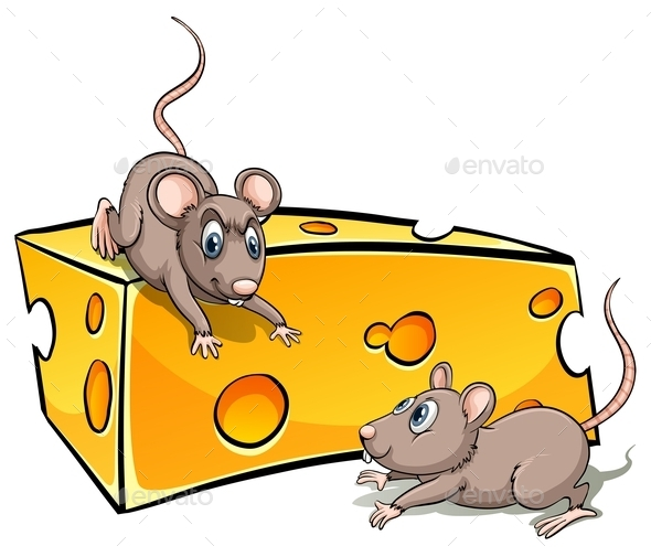 GraphicRiver Cheese with Rats 10914901