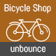 Bishop Bicycle Shop Unbounce Leadgen Landing Page - ThemeForest Item for Sale