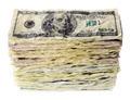 Stack of one-hundred dollar bills - PhotoDune Item for Sale