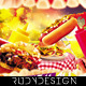 Eating Contest Flyer Template - GraphicRiver Item for Sale