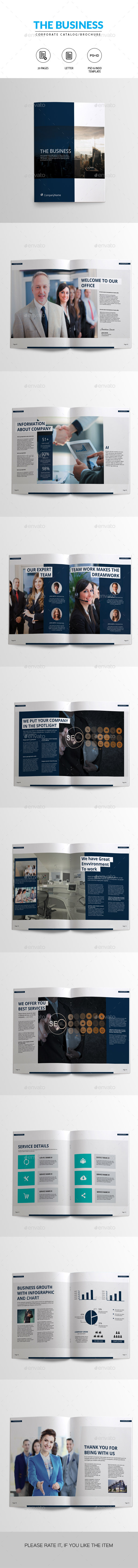 GraphicRiver Corporate Brochure Template 10855583